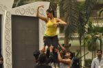Neha Dhupia practice for Sahara Star Seduction in Sahara Star on 30th Dec 2011 (44).JPG