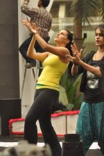 Neha Dhupia practice for Sahara Star Seduction in Sahara Star on 30th Dec 2011 (52).JPG