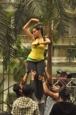 Neha Dhupia practice for Sahara Star Seduction in Sahara Star on 30th Dec 2011 (54).JPG