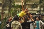 Neha Dhupia practice for Sahara Star Seduction in Sahara Star on 30th Dec 2011 (55).JPG