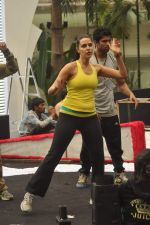 Neha Dhupia practice for Sahara Star Seduction in Sahara Star on 30th Dec 2011 (66).JPG