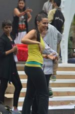 Neha Dhupia practice for Sahara Star Seduction in Sahara Star on 30th Dec 2011 (81).JPG