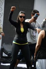 Neha Dhupia practice for Sahara Star Seduction in Sahara Star on 30th Dec 2011 (82).JPG
