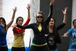 Neha Dhupia practice for Sahara Star Seduction in Sahara Star on 30th Dec 2011 (83).JPG