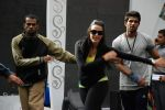 Neha Dhupia practice for Sahara Star Seduction in Sahara Star on 30th Dec 2011 (84).JPG