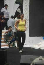 Neha Dhupia practice for Sahara Star Seduction in Sahara Star on 30th Dec 2011 (87).JPG