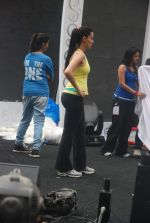 Neha Dhupia practice for Sahara Star Seduction in Sahara Star on 30th Dec 2011 (88).JPG