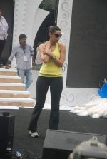 Neha Dhupia practice for Sahara Star Seduction in Sahara Star on 30th Dec 2011 (89).JPG