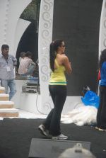 Neha Dhupia practice for Sahara Star Seduction in Sahara Star on 30th Dec 2011 (90).JPG