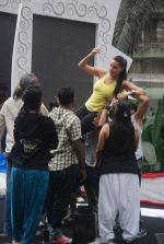 Neha Dhupia practice for Sahara Star Seduction in Sahara Star on 30th Dec 2011 (91).JPG