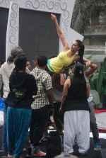 Neha Dhupia practice for Sahara Star Seduction in Sahara Star on 30th Dec 2011 (92).JPG