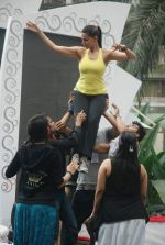 Neha Dhupia practice for Sahara Star Seduction in Sahara Star on 30th Dec 2011 (95).JPG