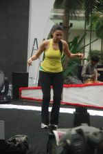 Neha Dhupia practice for Sahara Star Seduction in Sahara Star on 30th Dec 2011 (97).JPG