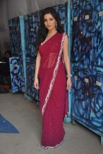 Shonali Nagrani On the sets of Bigg Boss 5 with Players star cast on 31st Dec 2011 (193).JPG