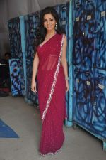 Shonali Nagrani On the sets of Bigg Boss 5 with Players star cast on 31st Dec 2011 (194).JPG