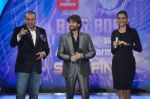 Sonam Kapoor, Neil Mukesh, Sanjay Dutt On the sets of Bigg Boss 5 with Players star cast on 31st Dec 2011 (157).JPG