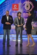 Sonam Kapoor, Neil Mukesh, Sanjay Dutt On the sets of Bigg Boss 5 with Players star cast on 31st Dec 2011 (158).JPG
