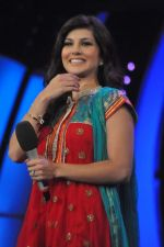 Sunny Leone On the sets of Bigg Boss 5 with Players star cast on 31st Dec 2011 (267).JPG