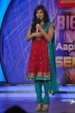 Sunny Leone On the sets of Bigg Boss 5 with Players star cast on 31st Dec 2011 (269).JPG
