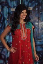 Sunny Leone On the sets of Bigg Boss 5 with Players star cast on 31st Dec 2011 (276).JPG