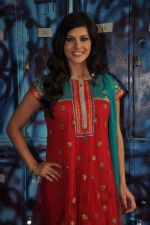 Sunny Leone On the sets of Bigg Boss 5 with Players star cast on 31st Dec 2011 (277).JPG
