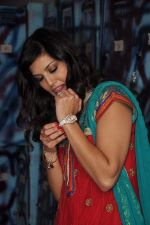 Sunny Leone On the sets of Bigg Boss 5 with Players star cast on 31st Dec 2011 (281).JPG