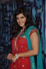 Sunny Leone On the sets of Bigg Boss 5 with Players star cast on 31st Dec 2011 (292).JPG