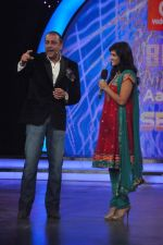 Sunny Leone, Sanjay Dutt On the sets of Bigg Boss 5 with Players star cast on 31st Dec 2011 (220).JPG