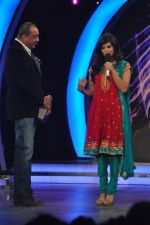 Sunny Leone, Sanjay Dutt On the sets of Bigg Boss 5 with Players star cast on 31st Dec 2011 (223).JPG