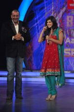 Sunny Leone, Sanjay Dutt On the sets of Bigg Boss 5 with Players star cast on 31st Dec 2011 (229).JPG