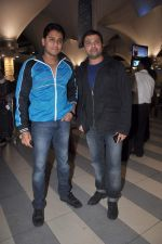 Himesh Reshammiya returns from their vacation on 2nd Jan 2012 (20).JPG