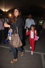 Raveena Tandon returns from their vacation on 2nd Jan 2012 (36).JPG