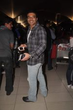 Uday Chopra returns from their vacation on 2nd Jan 2012 (25).JPG