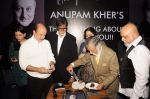 Amitabh Bachchan, Anupam Kher, Kiron Kher, Pritish Nandy at Anupam Kher_s book launch in Le Sutra on 3rd Jan 2012 (73).JPG