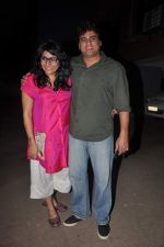 Ayub Khan, Niharika Khan at designer Niharika Khan_s house bash in Yari Road on 3rd Jan 2012 (2).JPG