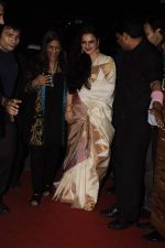 Rekha at Mangiamo restaurant launch in Bandra, Mumbai on 3rd Jan 2012 (34).JPG