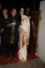Rekha at Mangiamo restaurant launch in Bandra, Mumbai on 3rd Jan 2012 (37).JPG