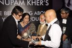 pritish nandy, Kiron Kher at Anupam Kher_s book launch in Le Sutra on 3rd Jan 2012 (18).JPG