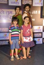 Kunal, Navina Bole at the launch of Colors new show Na Bole Tum Na Maine Kuch Kaha in Vie Lounge on 4th Jan 2012 (11).JPG