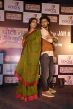 Kunal, Navina Bole at the launch of Colors new show Na Bole Tum Na Maine Kuch Kaha in Vie Lounge on 4th Jan 2012 (13).JPG