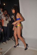 Shaurya Chauhan promotes film Sadda Adda in a bikini in Andheri, Mumbai on 4th Jan 2012 (1).jpg