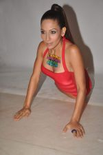 Shaurya Chauhan promotes film Sadda Adda in a bikini in Andheri, Mumbai on 4th Jan 2012 (24).jpg