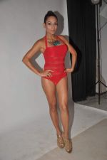 Shaurya Chauhan promotes film Sadda Adda in a bikini in Andheri, Mumbai on 4th Jan 2012 (4).jpg