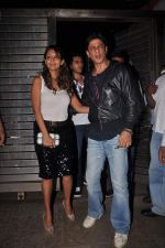 Gauri Khan, Shahrukh Khan at Farhan Akhtar_s birthday bash in Bandra, Mumbai on 8th Jan 2012 (2).jpg