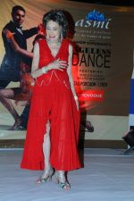 Tao porchon lynch at Ageless Dance show by Sandip Soparrkar in Sheesha Sky Lounge Gold on 10th Jan 2012 (9).JPG