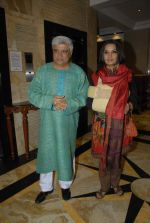 Javed Akhtar, Shabana Azmi at the I Am Kalam DVD launch in Sea Princess on 11th Jan 2012 (15).JPG