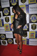 Poonam Pandey at Lions Gold Awards in Mumbai on 11th Jan 2012 (127).JPG