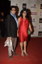 Ayub KHan, Niharika Khan at Star Screen Awards 2012 in Mumbai on 14th Jan 2012 (159).JPG