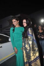 Deepika Padukone, Rekha at Star Screen Awards 2012 in Mumbai on 14th Jan 2012 (233).JPG