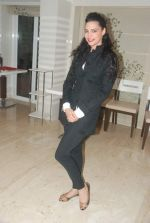 Shweta Bharadwaj at Meet Brothers party in Bawa Bistro on 15th Jan 2012 (66).JPG